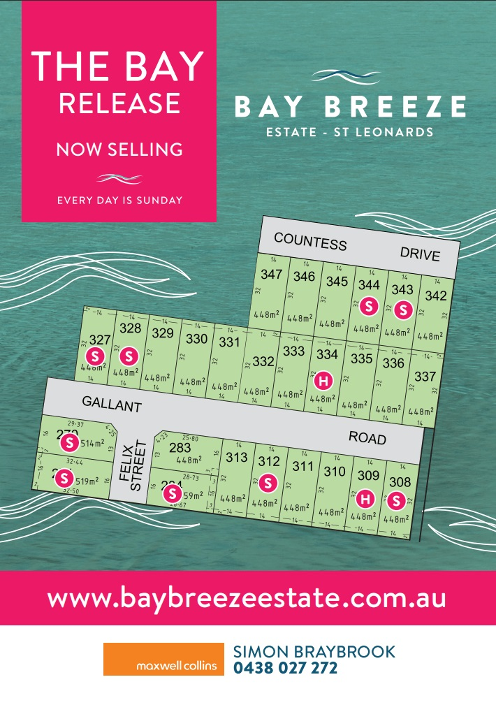 The overview of the Bay Release at Bay Breeze Estate